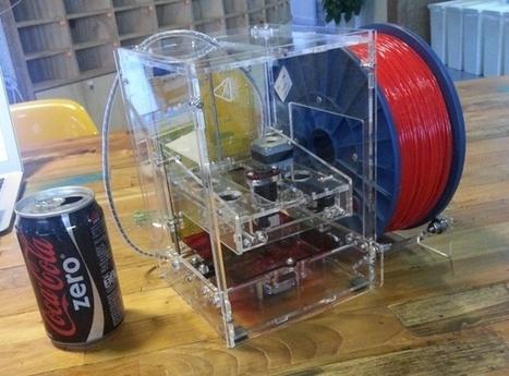 TinyBoy - $130 Open source 3D printer designed for students | 3D Printing | Scoop.it