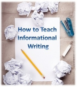 How to Teach Informational Writing | Common Core for Struggling Readers | Scoop.it