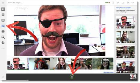Google+ integra una aplicación en los Hangouts para capturar imágenes | Educación 2.0 | Scoop.it