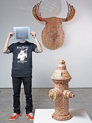 Broken Skateboards Become Stunning Wooden Sculptures | Random Ephemera | Scoop.it