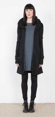 Prairie Underground - Long Cloak Hoodie in Black | Show Pony Boutique | Scoop.it