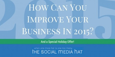 How Can You Improve Your Business In 2015?   The Content Marketing Hat   Scoop.it