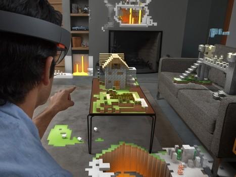 Microsoft HoloLens – The Power of Holograms - GadgetPress | GadgetPress | Scoop.it