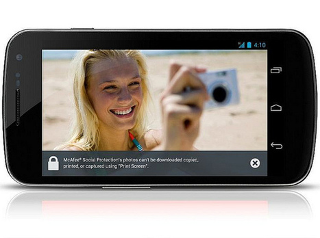Android McAfee Social Protection app for Facebook photos | Intel Free Press | Scoop.it