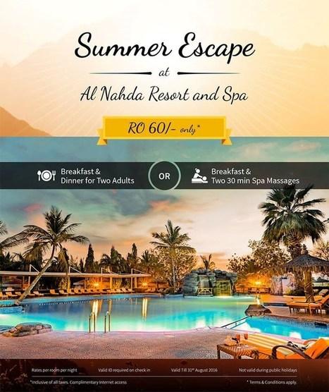Summer Escape   Al Nahda Resort & Spa   Hotels   Resorts   Restaurants   Scoop.it