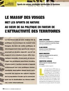 REVUE-ESPACES | Le massif des Vosges met les sports de nature au coeur de sa politique en faveur de l'attractivité des territoires | Tourisme de randonnées                                                                                                                                                                                 & Sports de nature pour les pros | Scoop.it