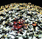 Old Movies Projected Onto Hundreds Of DVDs Create Beautiful Audio-Visual Mosaic | The Creators Project | new cinema | Scoop.it