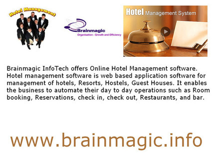 Hotel Management Software India | brainmagic.info | Scoop.it
