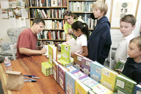 'Wimpy Kid' author meets his admiring readers | Children's books | Scoop.it
