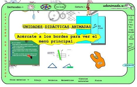 Crea y aprende con Laura: Udanimada. Unidades Didácticas animadas para ESO | Herramientas y recursos educativos TIC | Scoop.it