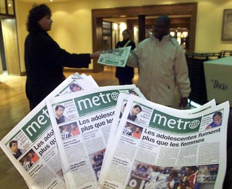 Le gratuit Metro se rénove pour ses dix ans   BiblioLivre   Scoop.it