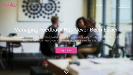 Wantoo. Collecter et agir sur les feedbacks. - Les Outils Collaboratifs | Les outils du Web 2.0 | Scoop.it