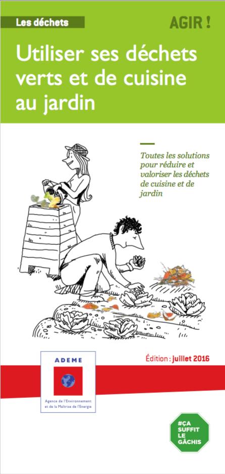 Utiliser ses déchets verts et de cuisine au jardin – ADEME | Remue-méninges FLE | Scoop.it