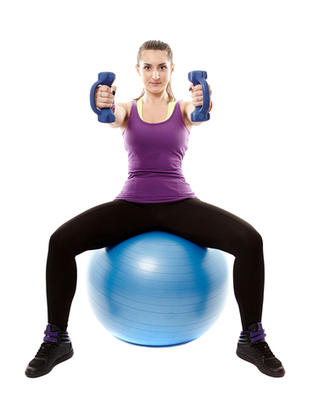 Benefits of sitting on exercise ball | BallExerciseWorkouts.com | Exercise Ball Workouts | Scoop.it