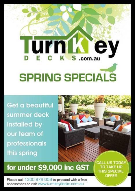 CURRENT SPECIALS | Deck Railing Design Canberra | Scoop.it