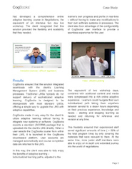 CogBooks - Case Studies   Adaptive Learning Technology   Scoop.it