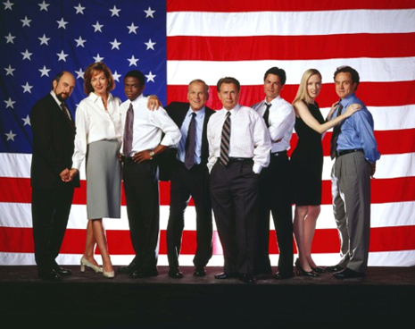 """Aaron Sorkin's """"THE WEST WING"""" DREAM OF DEMOCRACY 