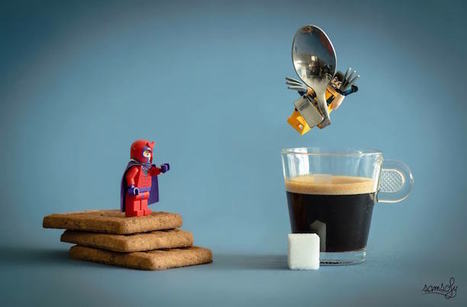 Photographer Creates Detailed Miniature Worlds with LEGO Characters and Life-Size Objects | Le It e Amo ✪ | Scoop.it