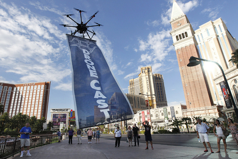 Drone Advertising Company Flies in Face of FAA | Drones and UAVs - Daily News about Drones (More than just a Gadget) | Scoop.it