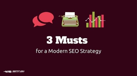 3 Musts for a Modern SEO Strategy - SEMrush Blog | TheSocially - Web Design Dubai Services | Scoop.it