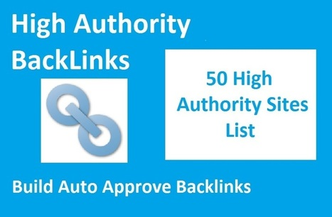 Backlink Boosters - List of High Authority Auto Approve Sites | Techaroid.com | Scoop.it