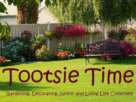 Tootsie Time: Tea Party For The Birds! (and a how-to) | Annie Haven | Haven Brand | Scoop.it