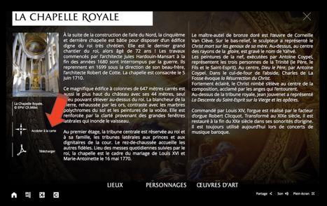 Comment utiliser le web-documentaire « Il était trois fois Versailles » en classe ? | Ressources Ecole | Scoop.it