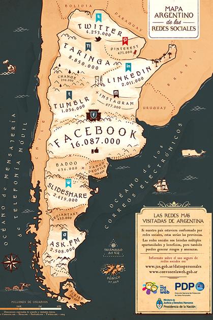 Un mapa de redes sociales para proteger los datos personales | Lengua y TIC | Scoop.it