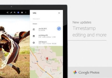 Google Photos web update: timestamp and album editing   Content Creation, Curation, Management   Scoop.it