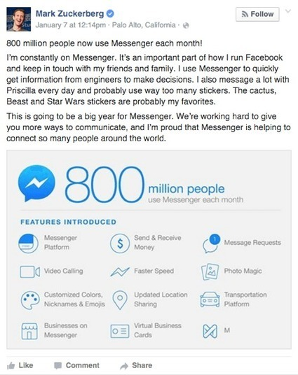 How to Use Facebook Messenger for Your Business : Social Media Examiner | SEO | Scoop.it