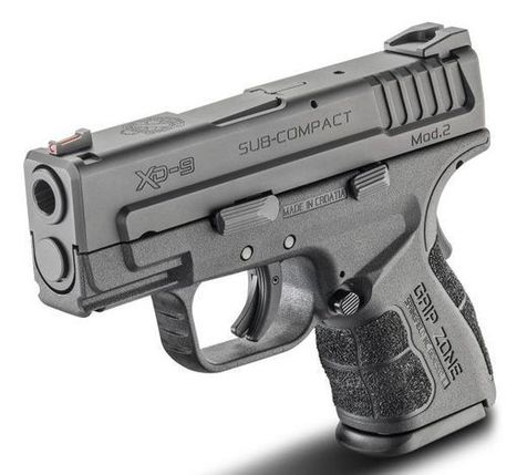 Springfield Armory XD Mod.2 9mm and .40 Smith & Wesson concealed carry pistol - Pistols - all4shooters.com | all4shooters EN | Scoop.it