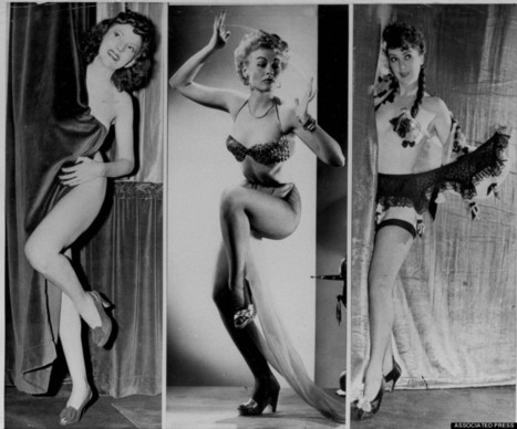 Enter The Captivating World Of Burlesque In The 1950s | Xposed | Scoop.it
