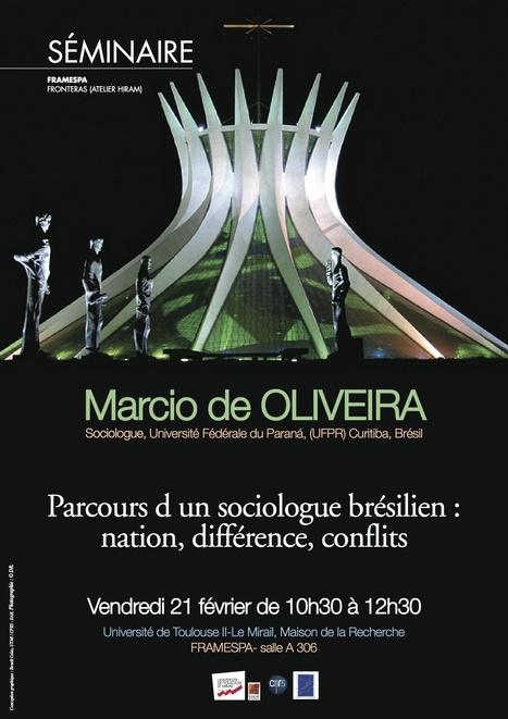 FRAMESPA : UMR 5136 - Séminaire : parcours d'un sociologue brésilien : nation, différence, conflits | Labos | Scoop.it