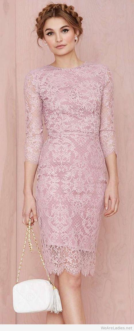 Amazing pink pencil dress   Pintast   Scoop.it