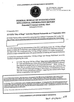 FOIA Documents Reveal How FBI Spied On OWS | MN News Hound | Scoop.it