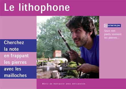 Lithophone | DESARTSONNANTS - CRÉATION SONORE ET ENVIRONNEMENT - ENVIRONMENTAL SOUND ART - PAYSAGES ET ECOLOGIE SONORE | Scoop.it