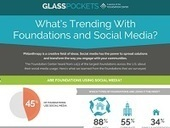 Infographic: Foundations and Social Networking | The Charitable Sector | Scoop.it