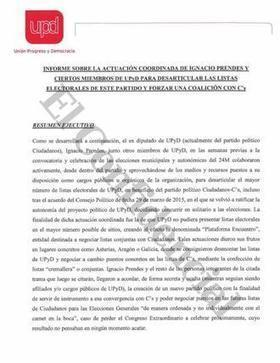 Elecciones Municipales y Autonómicas 2015: UPyD desvela los mails de la traición de Lozano y los críticos para unirse con Rivera. Noticias de España | Informática Forense | Scoop.it