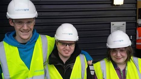 STUDENTS GET A TASTE OF WORKING LIFE WITH NATIONAL GRID | Gazelle Student Impact | Scoop.it