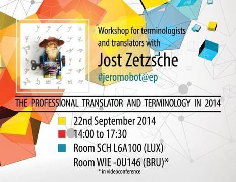 Most retweeted translation and terminology specialist Jost Zetzsche comes from the USA to the EP   terminology news   Scoop.it