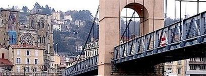 La passerelle Vienne - Sainte Colombe à nouveau ouverte à la circulation piétonne | Tourisme en pays viennois | Scoop.it