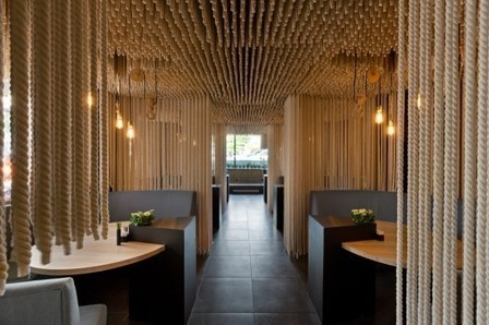 "Restaurant ""Odessa"" / YOD Design Lab | ArchDaily | Homey home | Scoop.it"