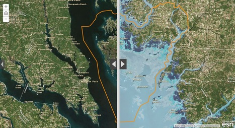 Sea Level Rise in Dorchester County, Maryland | CartOrtho | Scoop.it