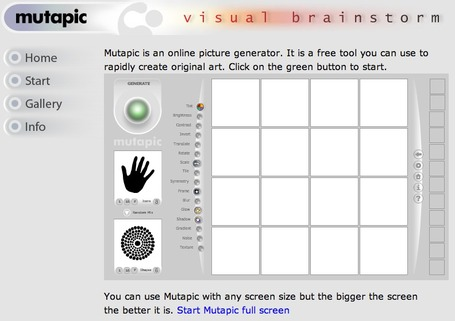 Mutapic - Online Picture Generator | elearning&knowledge_management | Scoop.it
