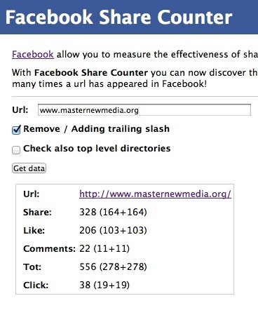 Measure How Much People Like, Share or Comment Any Specific URL on FB: The Facebook Share Counter | Digital Marketing & Social Media in Financial Services | Scoop.it