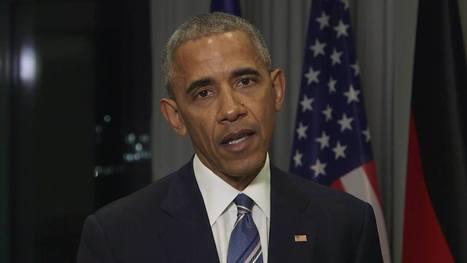 Bundesregierung - Obama exklusiv! President Obama über... | Facebook | France - Allemagne | Scoop.it