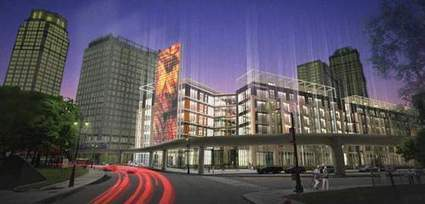 Up to 250 Apartments (and Retail!) Headed to Statler Site | Detroit Rebuilding | Scoop.it