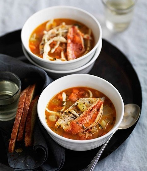 Rustic Italian seafood soup (Brodetto) | Le Marche and Food | Scoop.it