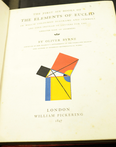 "Bookmark - Oliver Byrne's ""The Elements of Euclid"" 