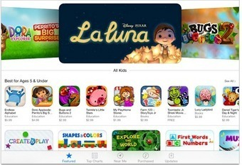 Apple Launched New Category in App Store for Kids Apps ~ Educational Technology and Mobile Learning | iPad i undervisningen | Scoop.it